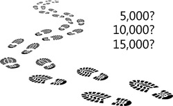 how many steps to take